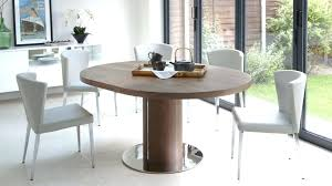 round walnut dining table and chairs dining room sets round walnut extending dining table pedestal base