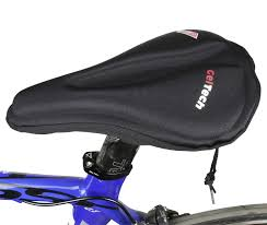 velo endzone soft mtb saddle bike gel seat cover size 280 254 x 203 178mm