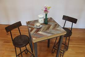 full size of wood bistro table or wood bistro set outdoor with reclaimed barn wood pub