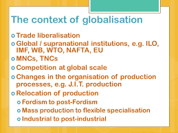 essay question research and critically discuss the impact of  5 the context of globalisation