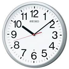 wall clock for office. SEIKO CLOCK Clock Wall Office Type Radio Time Signal Analog Watch KX230S For