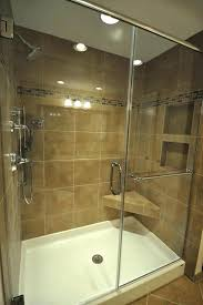 replace shower pan with tile prefab shower pan installation shower pan in fiberglass tile walls can