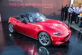 Mazda Announces 2016 MX-5 Curb Weight