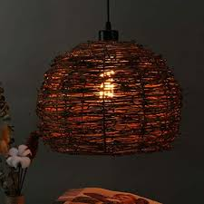 handmade lighting fixtures. Arturesthome IKEA Handmade Wicker Lampshade, Shabby Chic Rattan Light,  Unique Woven Ceiling Light Fixtures Handmade Lighting Fixtures N