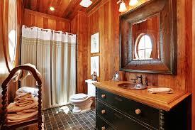Western Rustic Decor Graceful Rnd Western Post Tooled Rustic Bathroom Accessories