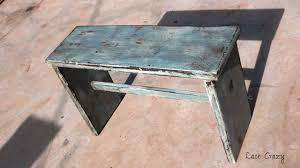 distressed wood furniture diy. Tutorial For Refinishing Wood Furniture To Look Distressed And Aged. Diy E