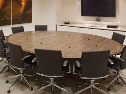 round boardroom tables 1