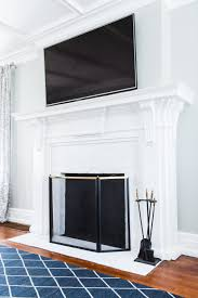 a budget friendly diy fireplace makeover for under 30 easy home reno projects