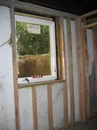 Egress Window Size Egress Window Install Northern Virginia - Basement bedroom egress