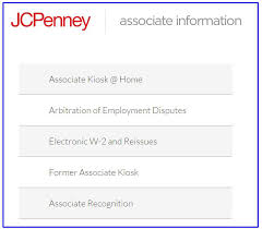 Jcpenney Associate Jcp Associate Kiosk Can You Register At Home Jcpassociatekiosk