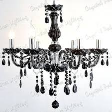 black crystal chandeliers black crystal chandelier lighting black crystal chandelier 8 arms lighting black and gold