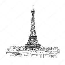 Coloriage Tour Eiffel Imprimer Gratuit Concernant Croquis Tour En