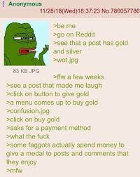 Gold About Out Greentext Reddit Anon Finds