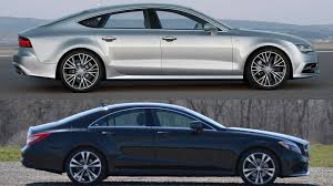 audi a7 2016 coupe. Delighful Audi 2015 Mercedes Benz CLS400 Vs 2016 Audi A7 Sportback Inside Coupe
