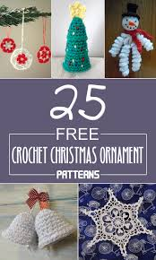 Christmas Ornament Patterns Delectable 48 FREE Crochet Christmas Ornament Patterns