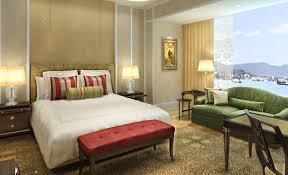 Beach hotel room interior design
