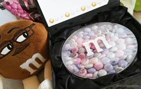 my m m s candy treat gift personalized gift chocolate m m s
