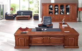 office table wood. Wood Office Table Walnut Cherry Executive Desk .