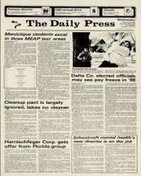 Escanaba Daily Press Archives, Feb 25, 1987, p. 1