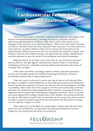 019 Personal Statement Fellowship Letter Of Recommendation
