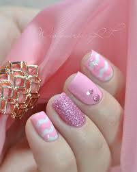 Pink Nail Art Design 50 Pink Nail Art Designs Art And Design