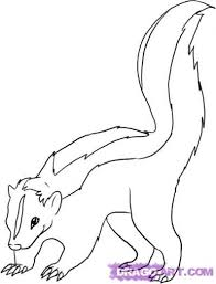 Small Picture 117 best SKUNK DRAWINGS images on Pinterest Skunks Animals and Draw