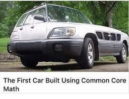Who Made The First Car The First Car Built Using Common Core Math Cars Meme On Me Me