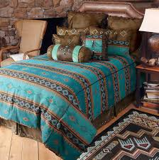 turquoise western bedding sets home design ideas
