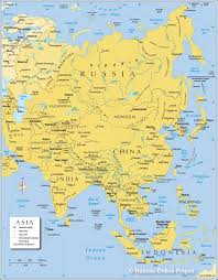map of asia political map of asia nations online project Map Of Asia Atlas map of asia map of asia to label