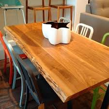 ottawa dining room furniture solid 2 wood tops with a live natural edge the perfect blend