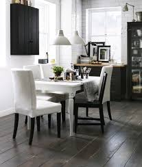 to fit the table into a contemporary interior paint it in pure white