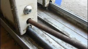 goregoon s garage how to fix your sliding glass patio doors part