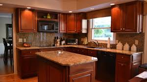 L Shaped Kitchen Island L Shaped Kitchen With Island And Corner Pantry Youtube