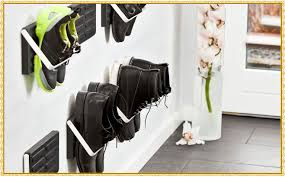 Build In Shoe Cabinet Wall Mounted Shoe Rack Home Decorations Ideas
