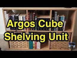 argos home cube shelves quick build and