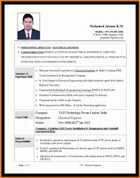 5 Electrical Engineering Cv Sample Mail Clerked Pics Cover Letter