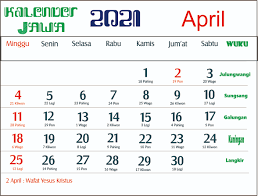 Puasa sunnah ini (umumnya) dapat dikerjakan. Kalender 2021 Indonesia Jawa Lengkap 12 Bulan