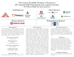 also the chamber would like to thank the following sponsors