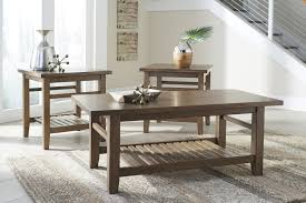 Coffee Tables : Breathtaking Ashley Coffee Table Furniture Zantori Pc Set  Light Brown Contemporary Main End Tables Round Wood Legs Marion Braxton  Java Lift ...
