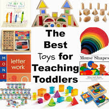The Best Toys for Teaching Toddlers Through Play, Alphabet, shapes, books,  Montessori
