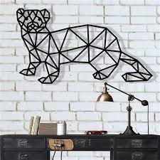 ferret metal wall decor animals metal