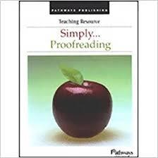 Simply...Proofreading: Ginger Shapiro: 9781583031421: Amazon.com ...