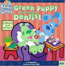 blues clues green puppy plush. Green Puppy Blues Clues Plush