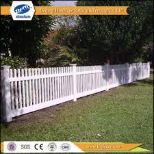 fb3 china pvc garden white picket