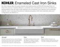 enameled cast iron farmhouse sink. Click Here To Learn More About Kitchen Sinks And Enameled Cast Iron Farmhouse Sink