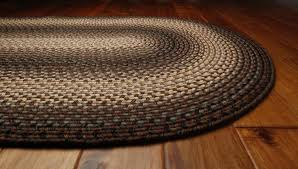 driftwood braided rug