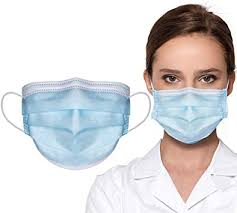 Konsung <b>50PCS 3 Layer</b> Disposable <b>Face</b> Mask Breathable and ...