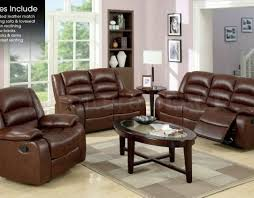 sofa : Brown Reclining Sofa Incredible Brava Brown Power Reclining ...