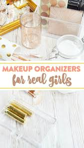 today i want to show you some diffe diy makeup organizer ideas perfect for anyone with a makeup routine