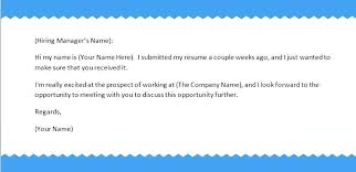how to send a resume how to send resume via email sample sample cover  letter sending